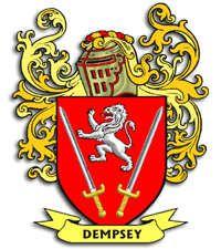 Dempsey Family Crest Family Crests Family Crest Family Shield