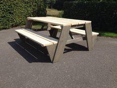Picknicktafel steigerhout