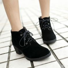 Heels Platform Ankle Boots Shoes snow Boots