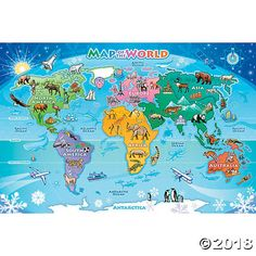 Study World Map.Highlighted In Orange Printable World Map Image For Geography