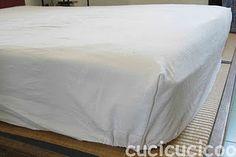 come fare gli angoli alle lenzuola!