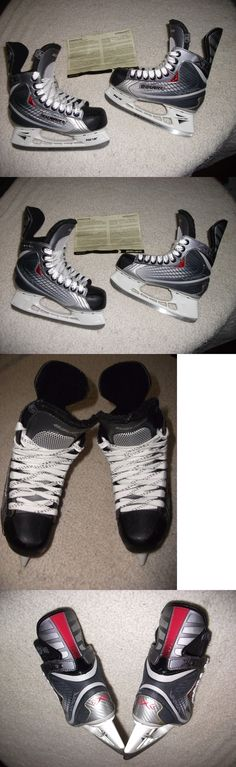 Ice Hockey-Youth 26342: Bauer Vapor X:15 Ice Hockey Skates Possibly New, Size 3 Skate,4 Shoe, Perfect -> BUY IT NOW ONLY: $99.99 on eBay!