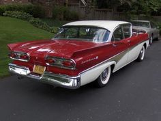 1958 Ford 2 Door Wagons   ... the two door version of a car but this four door 1958 ford fairlane