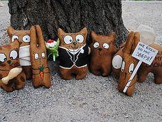 Кофейные зверята, или Как я тонирую игрушки | Ярмарка Мастеров - ручная работа, handmade