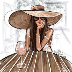 Holly Nichols Illustration de mode, - Holly Nichols Fashion illustration, Best Picture For diy projec - Fashion Art, Trend Fashion, Fashion Collage, Vogue Fashion, Fashion Quotes, Girl Fashion, Fashion Design, Style Fashion, Fashion Ideas