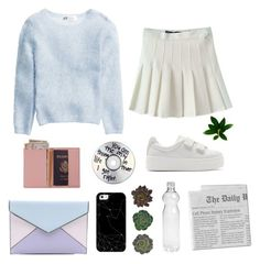 """""""Idk"""" by emily3hallow ❤ liked on Polyvore featuring Kenzo, Rebecca Minkoff, Royce Leather and Casetify"""