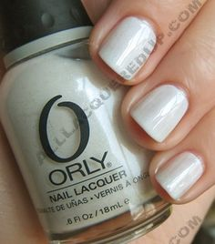 orly gogo nail polish So Fresh and So Clean   The White Nail Trend  White polishes that don't look so chalky