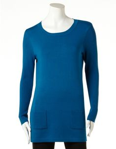 Two Pocket Pullover Tunic
