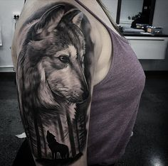 Wolves on Girls Arm | Best tattoo ideas & designs