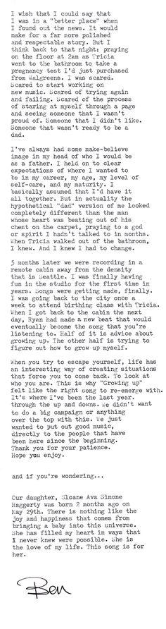 Macklemore and Ryan Lewis feat. Ed Sheeran - Growing Up (Sloane's Song)