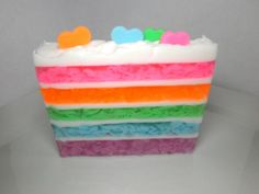 Pastel Cake Soap by Kokolele on Etsy, $6.00
