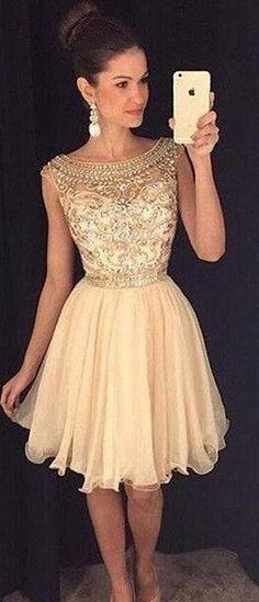 2017 Prom Dress, Homecoming Dresses Short Summer Prom Party Dress, Short Prom Dress
