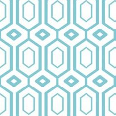 Camelot Cottons House Designer - Cove - Hexagons in Tide