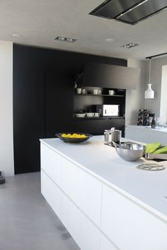 Kitchen Decor Black And White.Black And Yellow Color Schemes For Modern Kitchen Decor. 26 Beautiful Glam Kitchen Design Ideas To Try DigsDigs. 15 Impressive Black And White Christmas Decor Ideas . Home and Family White Kitchen Interior, White Wood Kitchens, Interior Design Kitchen, Interior Ideas, Rustic Kitchen, New Kitchen, Kitchen Decor, Kitchen Ideas, Kitchen Cart