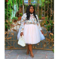 New on #MusingsofaCurvyLady wearing @coolgalblue tutu.  #fashionblogger #PlusSizeFashion #wiw #tutu #yougotitright #StyleHunter #realoutfitgram