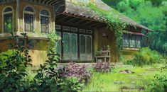 Post with 3893 votes and 174002 views. Tagged with art, anime, studio ghibli; Shared by Studio Ghibli houses/scenery art dumpu Art Studio Ghibli, Studio Ghibli Films, Secret World Of Arrietty, The Secret World, Secret Life, Studio Ghibli Background, Animation Background, Hayao Miyazaki, Ghibli Backgrounds