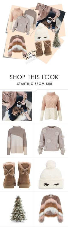 """""""Untitled #9"""" by anermehi ❤ liked on Polyvore featuring Post-It, Chicwish, Miss Selfridge, French Connection, TIBI, UGG, Kate Spade, Frontgate and Urbancode"""