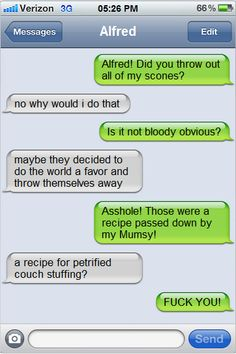 Omg I think I died xD a text conversation between America and England.