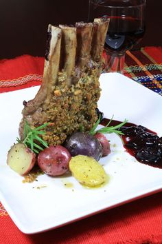 Costillar de Cordero (Rack of Lamb)