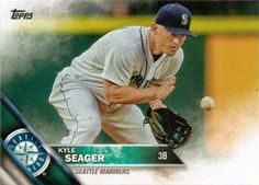 2016 Topps #5 Kyle Seager Front