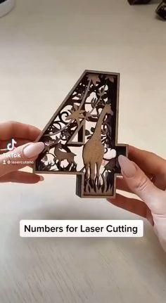 Diy Home Crafts, Clay Crafts, Wood Crafts, Paper Crafts, Laser Cutter Ideas, Laser Cutter Projects, Laser Art, 3d Laser, Laser Machine