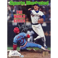 Robin Yount Milwaukee Brewers Fanatics Authentic Autographed 1982 World Series Sports Illustrated Magazine