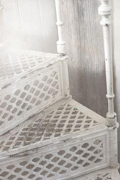 Antique cast iron staircase.....