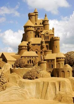 Sand Sculpture~Amazing Sand Art!!!