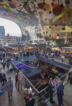 MVRDV's arched Markthal Rotterdam opens