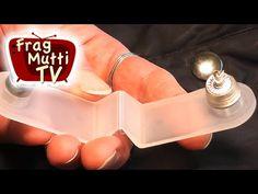 Druckknöpfe anbringen - Anleitung (Jackentaschen) | Frag Mutti TV