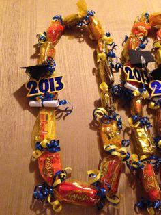 Candy Graduation Leis