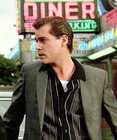 Ray Liotta as Henry Hill in Goodfellas Ray Liotta Goodfellas, Goodfellas 1990, Patrick Swayze, John Travolta, John Malkovich, Leonardo Dicaprio, Mafia, Movie Stars, Movie Tv