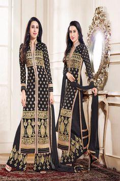 Green Karishma Palazo Salwar Suit | Online Shopping Company ...