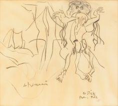 Willem De Kooning, Senza titolo