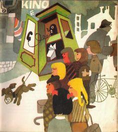 Illustration by Zbigniew Rychlicki, Title: Bajki z zaczarowanego rękawa, Author: Oldrich Syrovatka Illustrations, Childrens Books, Book Art, Kids Rugs, Christian, Magic, 1975, Drawings, Artist