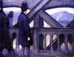 The Pont de Europe (study) (also known as Port de l'Europe) Gustave Caillebotte - 1876
