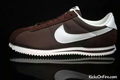 brown cortez shoes