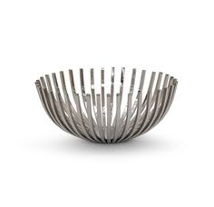 MGBW Array Bowl / Reg. $210 Sale $168 / Nickel plated polished stainless steel / 15.5 Dia, 6.75H