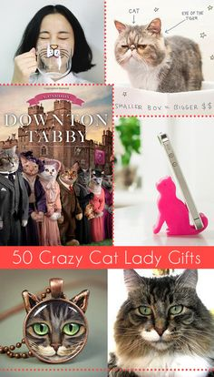 I am so excited to be participating in a wonderful Gift Giving blog hop with some awesome bloggers. Be sure ... keep reading!   http://www.dreamalittlebigger.com/post/crazy-completely-sane-cat-lady-gift-guide.html