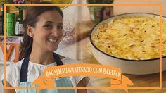 Receita de Bacalhau Gratinado com Batatas - Transmissão ao vivo dia 04/0...