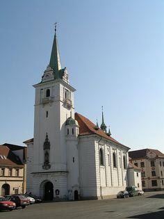 kostel v Trmicích Free Maps, Czech Republic, San Francisco Ferry, Notre Dame, Building, Travel, Viajes, Buildings, Trips