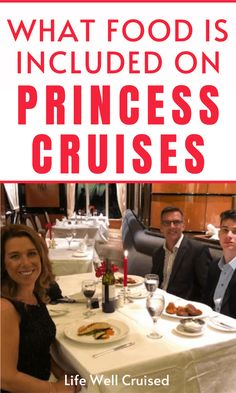 Princess Cruises: Best Cruise Food that's Included (with photos) - Life Well Cruised Alaska Cruise Tips, Cruise Packing Tips, Cruise Travel, Cruise Vacation, Vacations, Cruise Ship Reviews, Best Cruise Ships, Cruise Excursions, Cruise Destinations