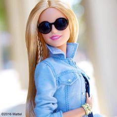 56.1 тыс. отметок «Нравится», 262 комментариев — Barbie® (@barbiestyle) в Instagram: «All about chambray today. #barbie #barbiestyle»