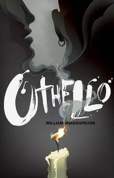 Robert M Ball's cover of William Shakespeare's Othello, for Rock Paper Books