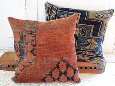 made from old rugs...bloody clever!