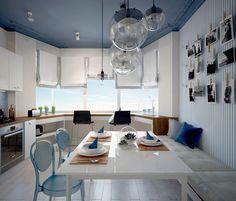Проект кухни в типовой «панельке»