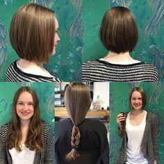 Donating Hair, Big Chop, Preston, Hairdresser, Bob, Instagram Posts, Bob Cuts, Bob Sleigh, Barber