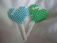 Heart Lollipops by VividWanderer