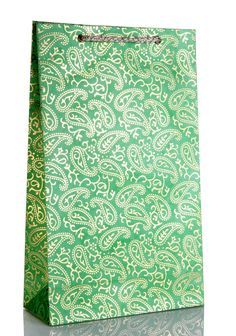 Green and Golden Paisley Design Wedding Gift Bags, Wedding Cards, Green Paper, Paisley Design, Initials, Prints, Handmade, Wedding Goody Bags, Wedding Ecards