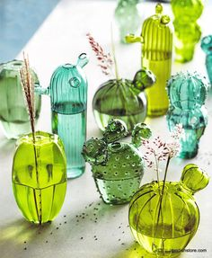 Roost Quirky Cactus Vases | OMG